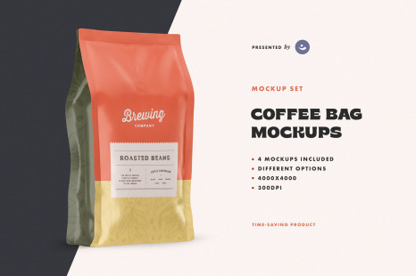 Download Coffee Bag Mockup Free Psd Yellowimages