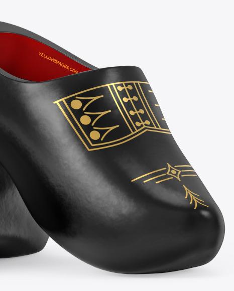Clogs Shoes Mockup