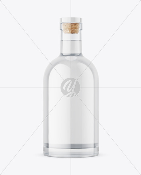 Download Clear Glass Alcohol Bottle Mockup In Bottle Mockups On Yellow Images Object Mockups PSD Mockup Templates