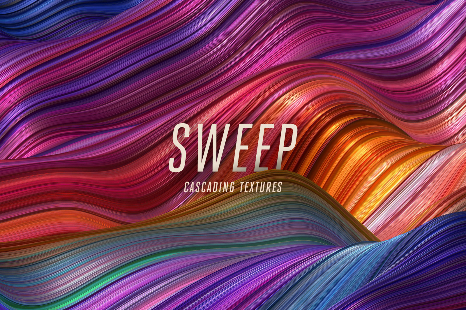 Sweep: Glossy Cascading Textures