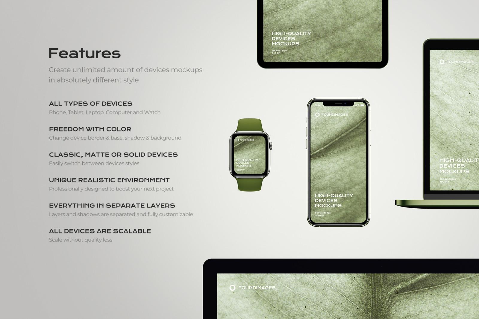 Device Scene Creator Bundle Phone #46