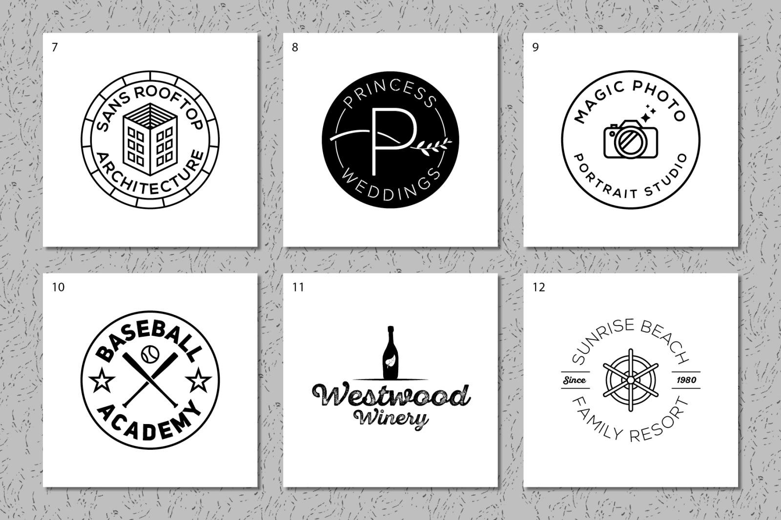 Modern Premade Logos