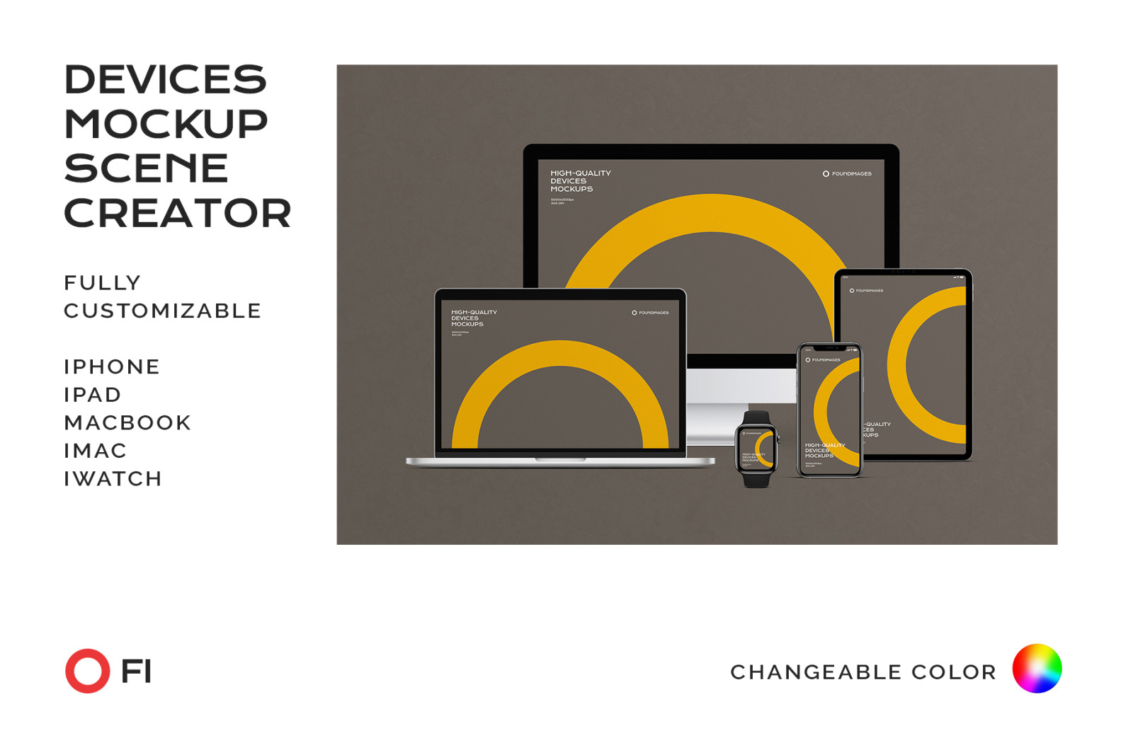 Device Scene Creator Bundle Phone #13