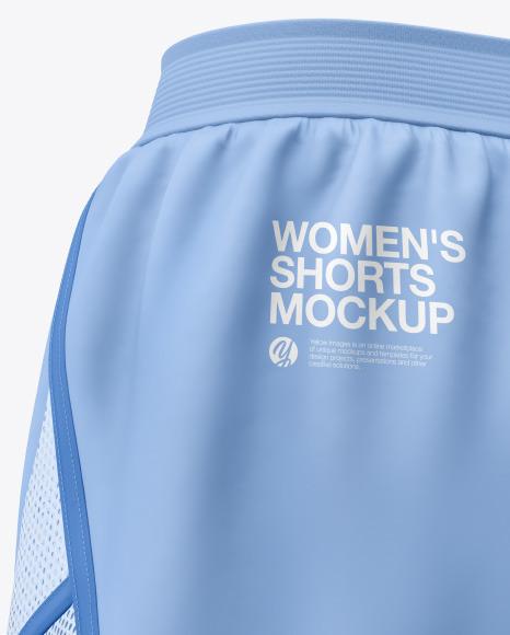 Women's Shorts Mockup