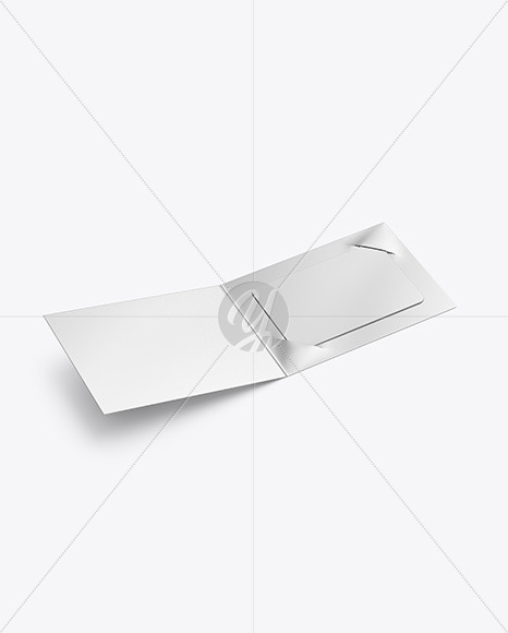 Metallic Gift Card Mockup
