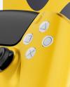 Playstation 5 with DualShock Mockup