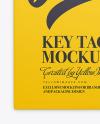 Key Tag Mockup