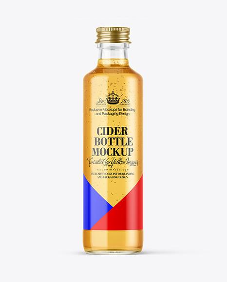 Cider Bottle Mockup