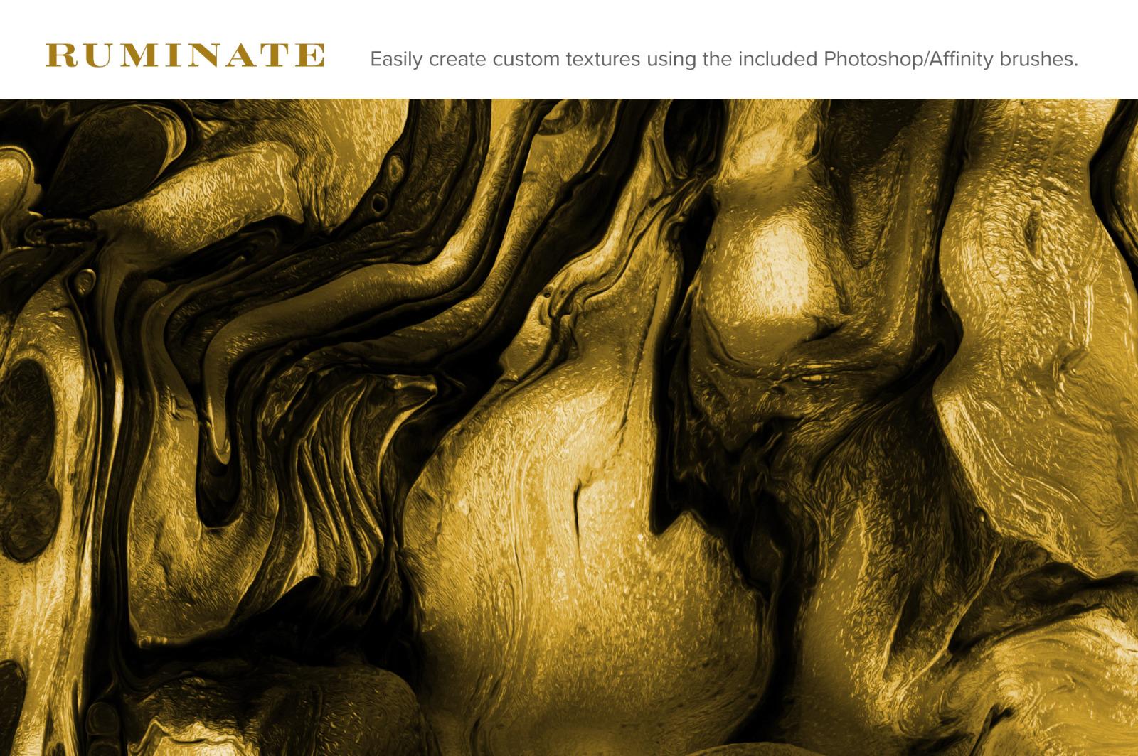 Ruminate: Experimental 3D Paint Textures