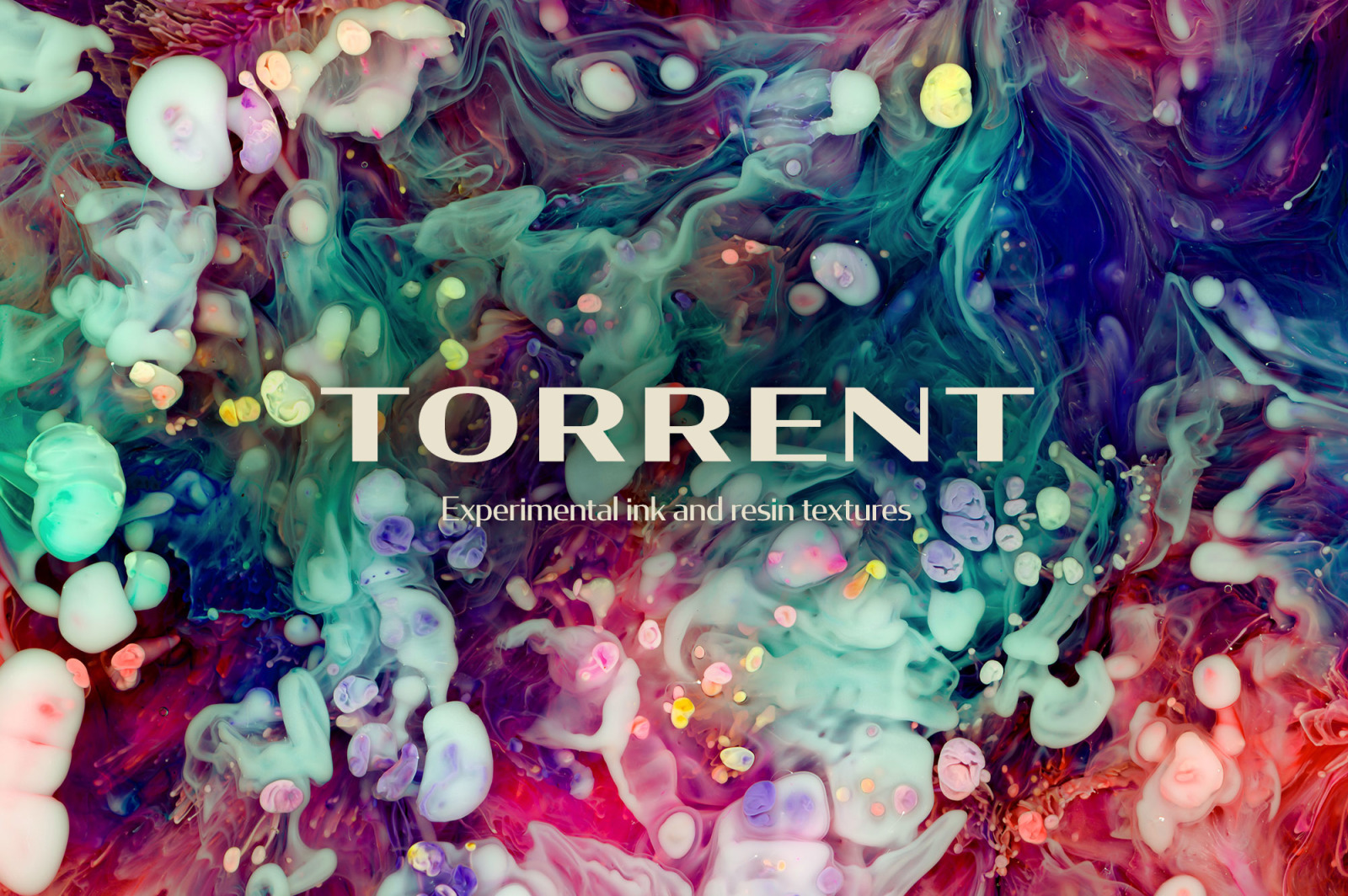 Torrent: Experimental Ink and Resin Textures