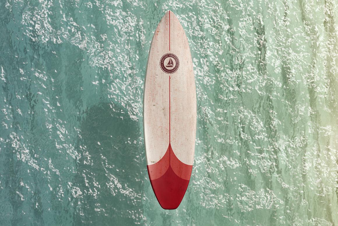 Surfboard Mockups Set