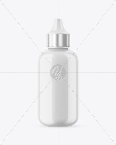 Free Download 10ml Glossy Dropper Bottle Mockup PSD - Free PSD Mockup Templates