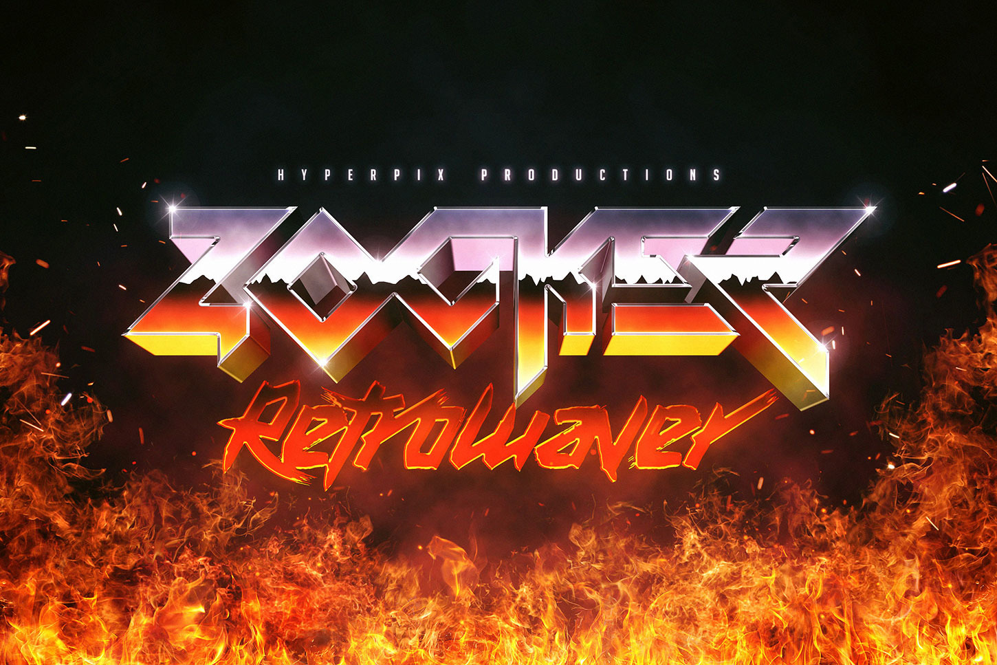 80s Text and Logo Effects Vol.5