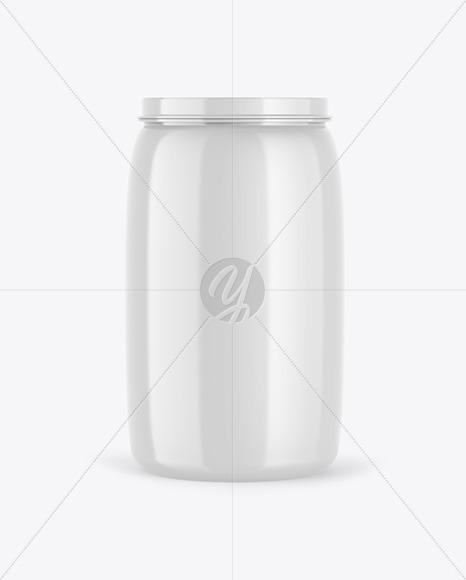 Glossy Barrel Mockup