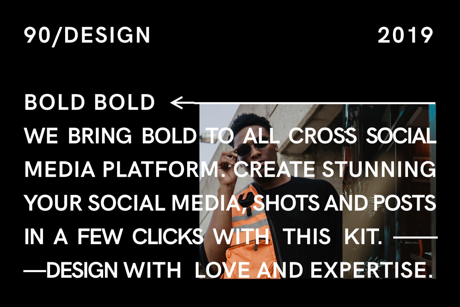 BOLD-Social Media Brand Templates