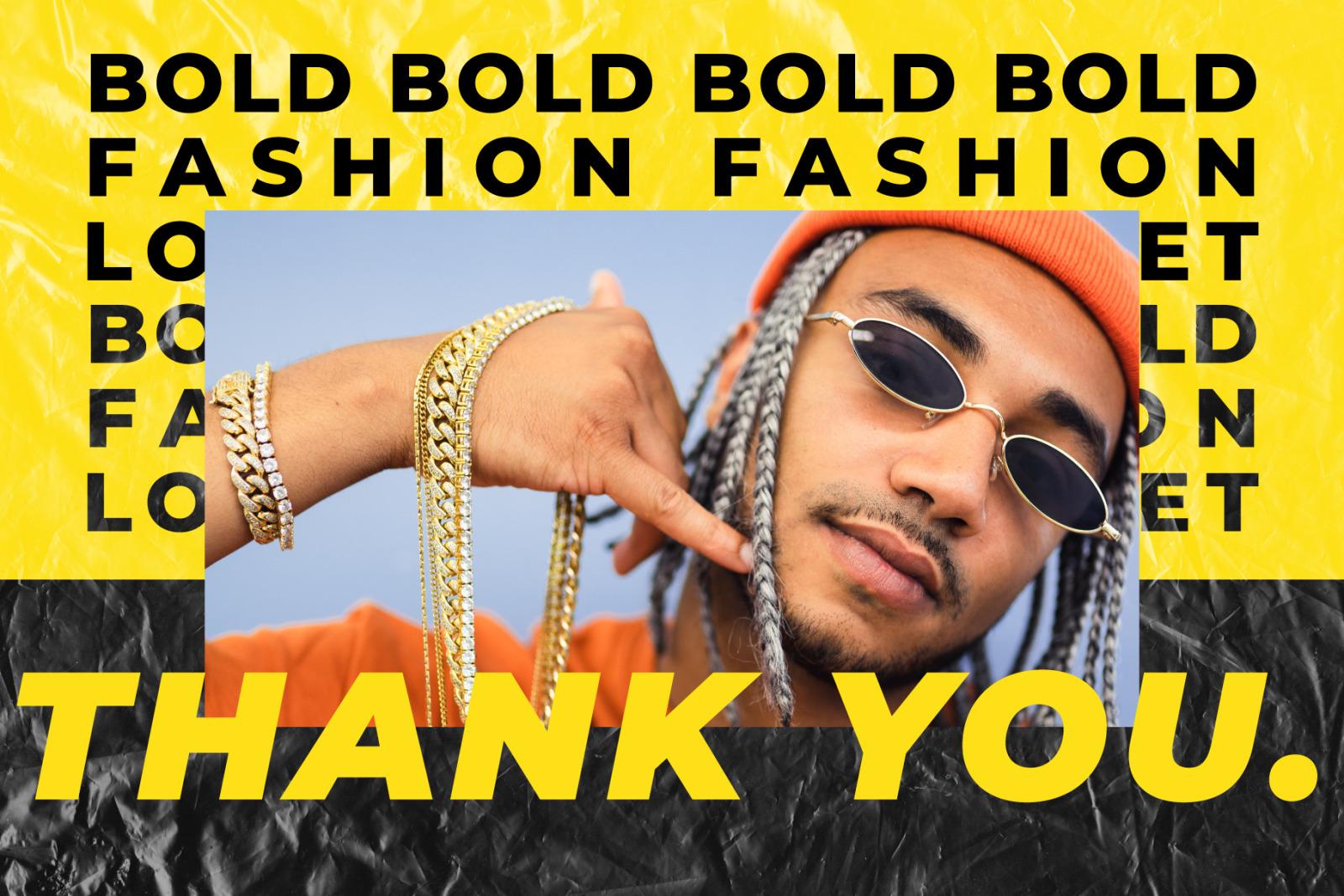 BOLD-Fashion Lookbook Editorial