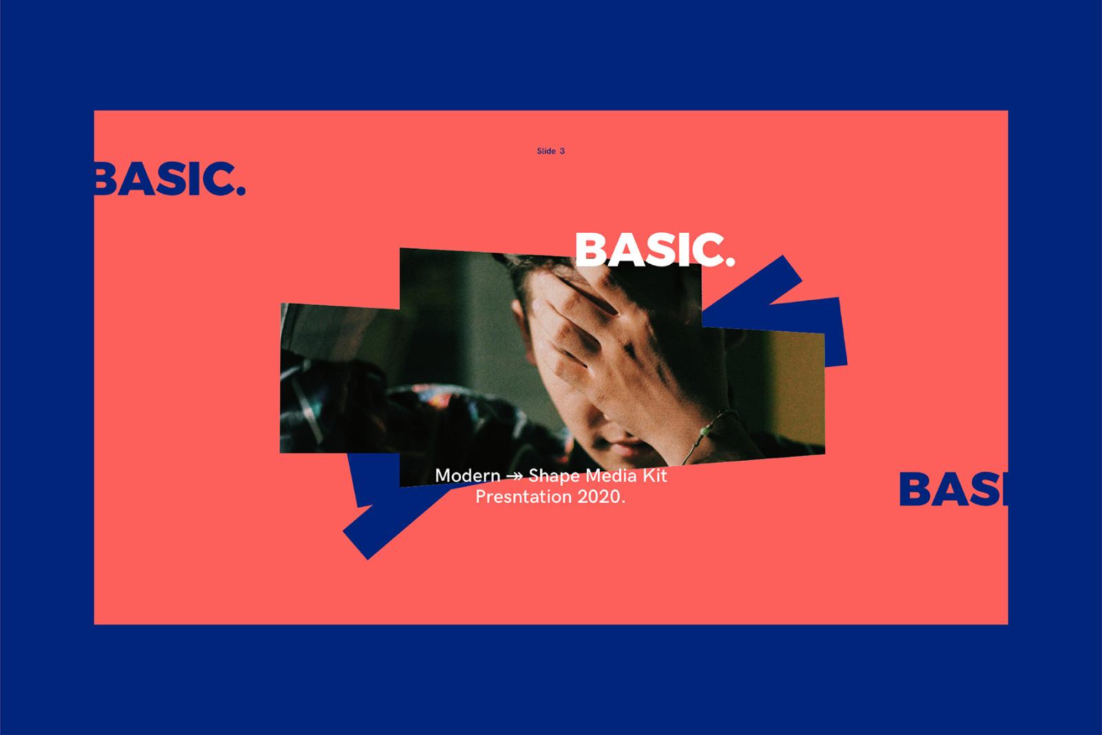 BASIC-Keynote Media Kit Templates