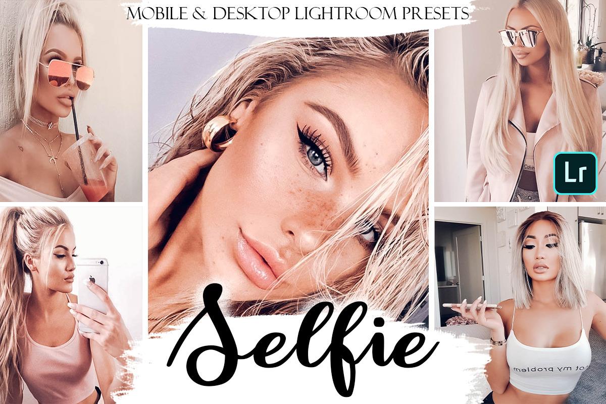 Selfie Mobile & Desktop Presets | Portrait Lightroom Presets