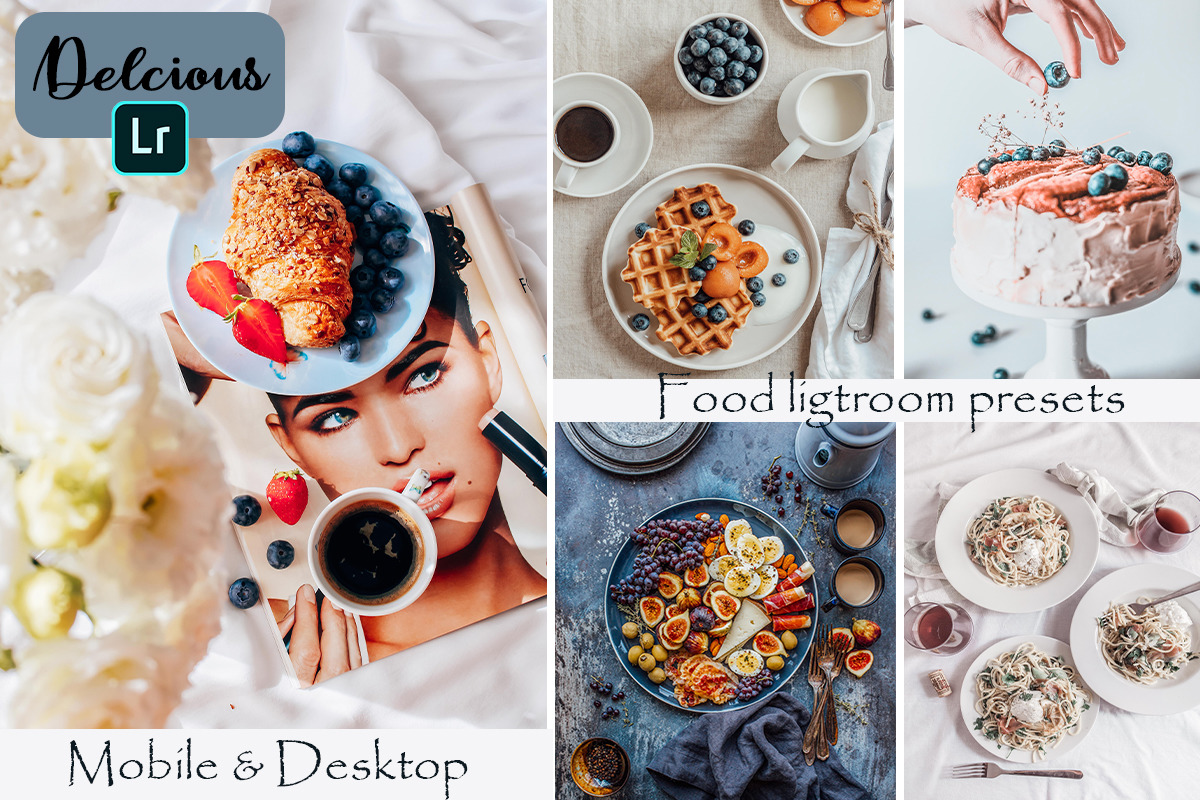 Food Blogger Mobile & Desktop Lightroom Presets