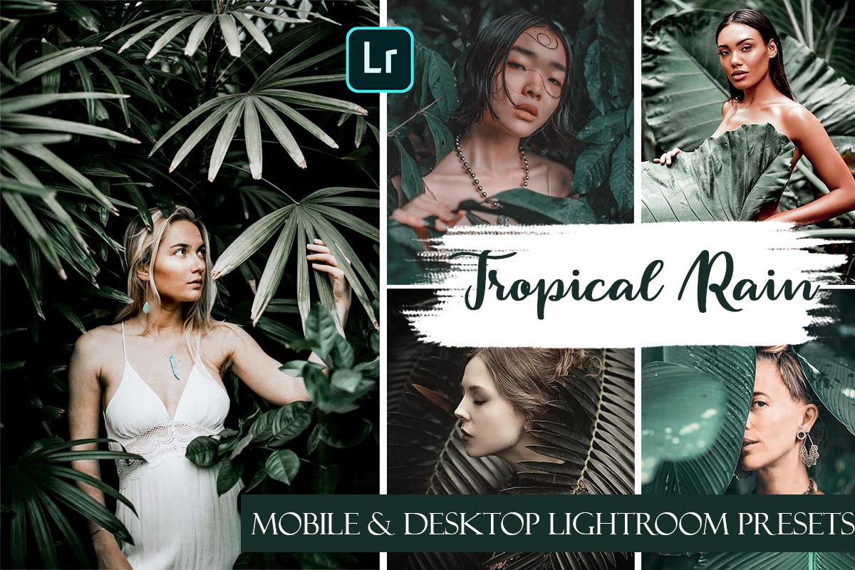 Tropical Rain Mobile & Desktop Presets | Summer Ligthroom Presets