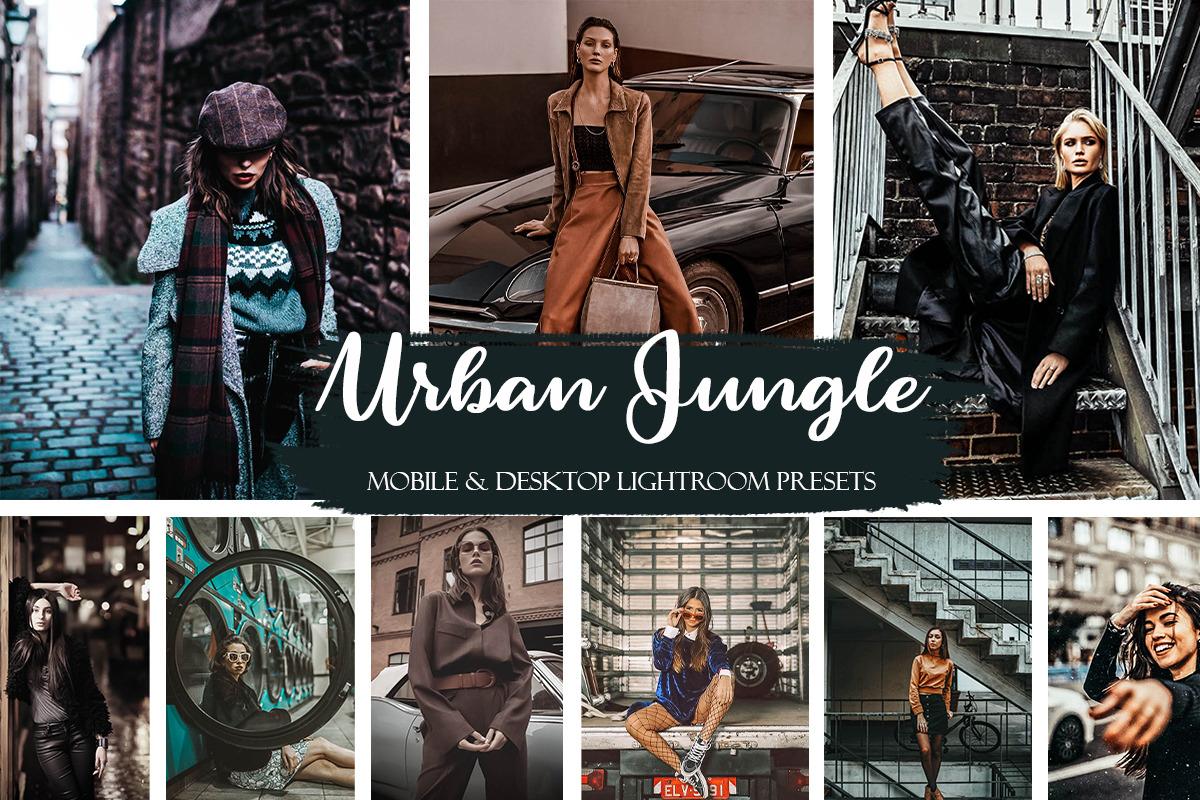 Urban Jungle Mobile & Desktop Presets | Street Ligthroom Presets