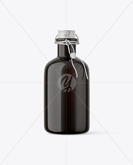 Download Dark Glass Olive Oil Bottle Mockup In Bottle Mockups On Yellow Images Object Mockups PSD Mockup Templates