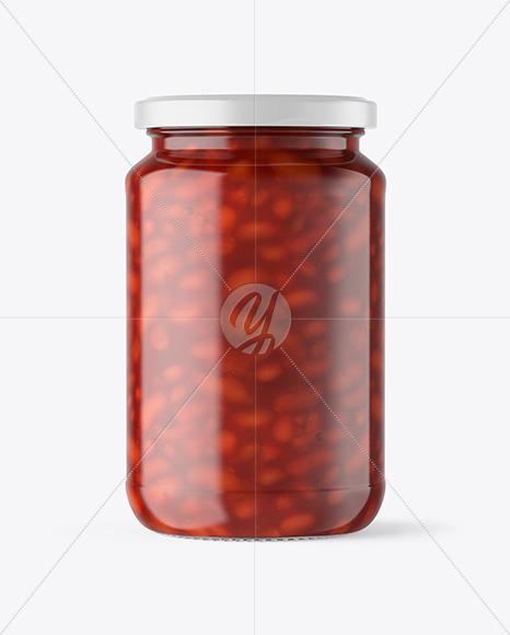 Download Matte Storage Jar Front View PSD - Free PSD Mockup Templates