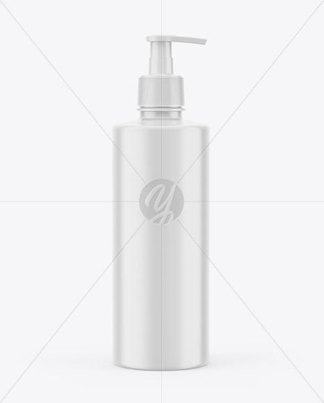 Download Orange Liquid Soap Bottle With Pump Mockup PSD - Free PSD Mockup Templates