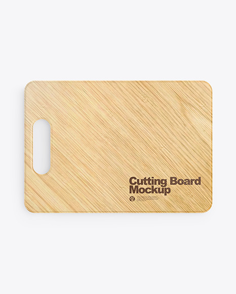 Wooden Cutting Board Mockup