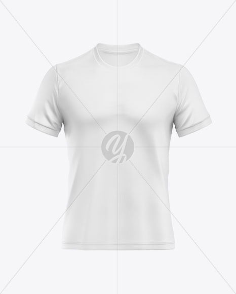 Download Soccer T Shirt Mockup Front View In Apparel Mockups On Yellow Images Object Mockups PSD Mockup Templates