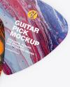 Plastic Guitar Pick Mockup