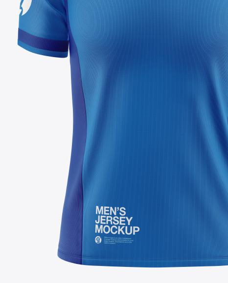 Men's Short Sleeve Raglan Mockup