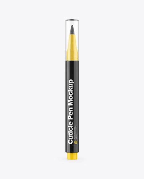 Glossy Cuticle Pen Mockup