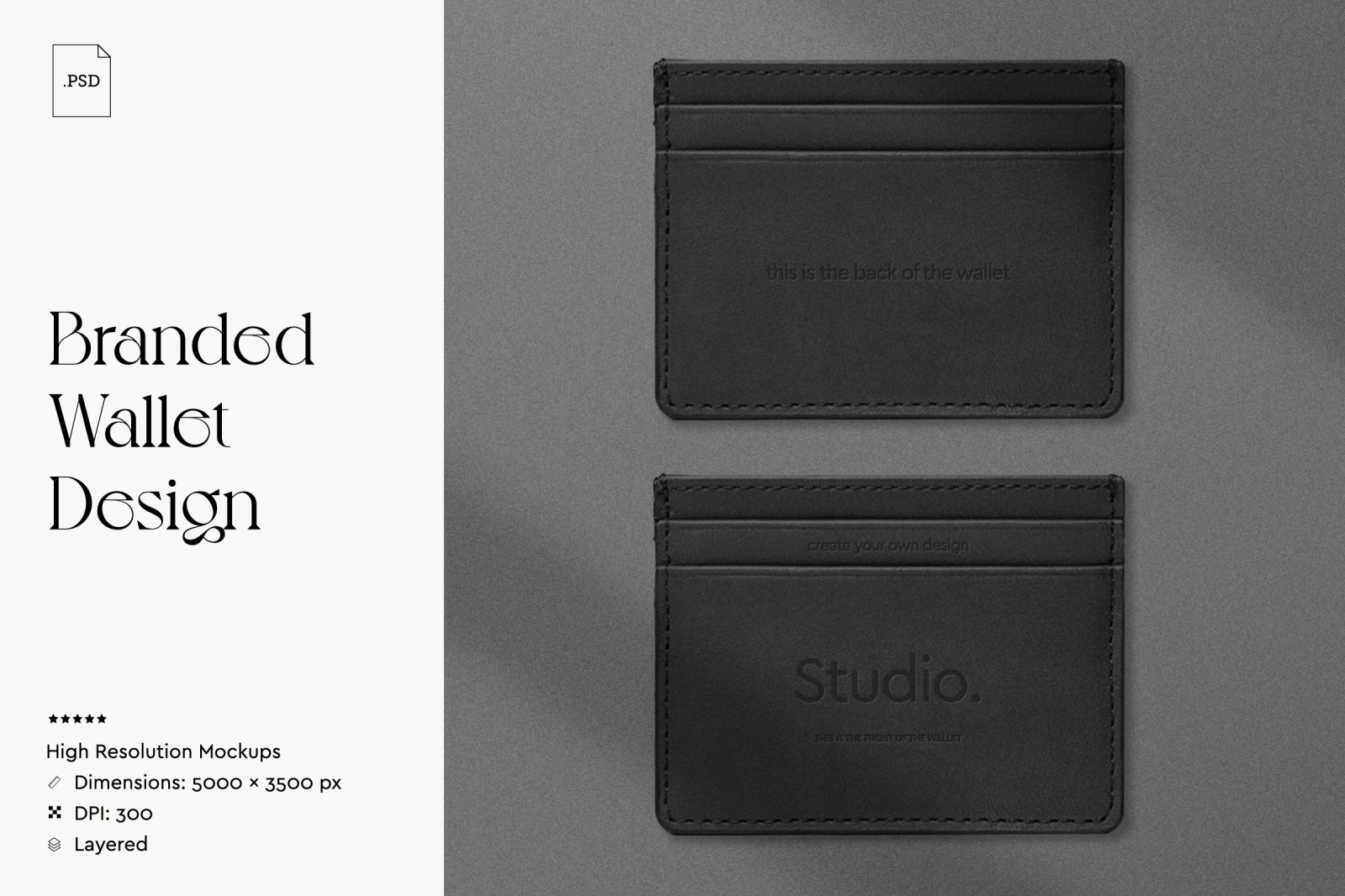 Branded Wallet Design