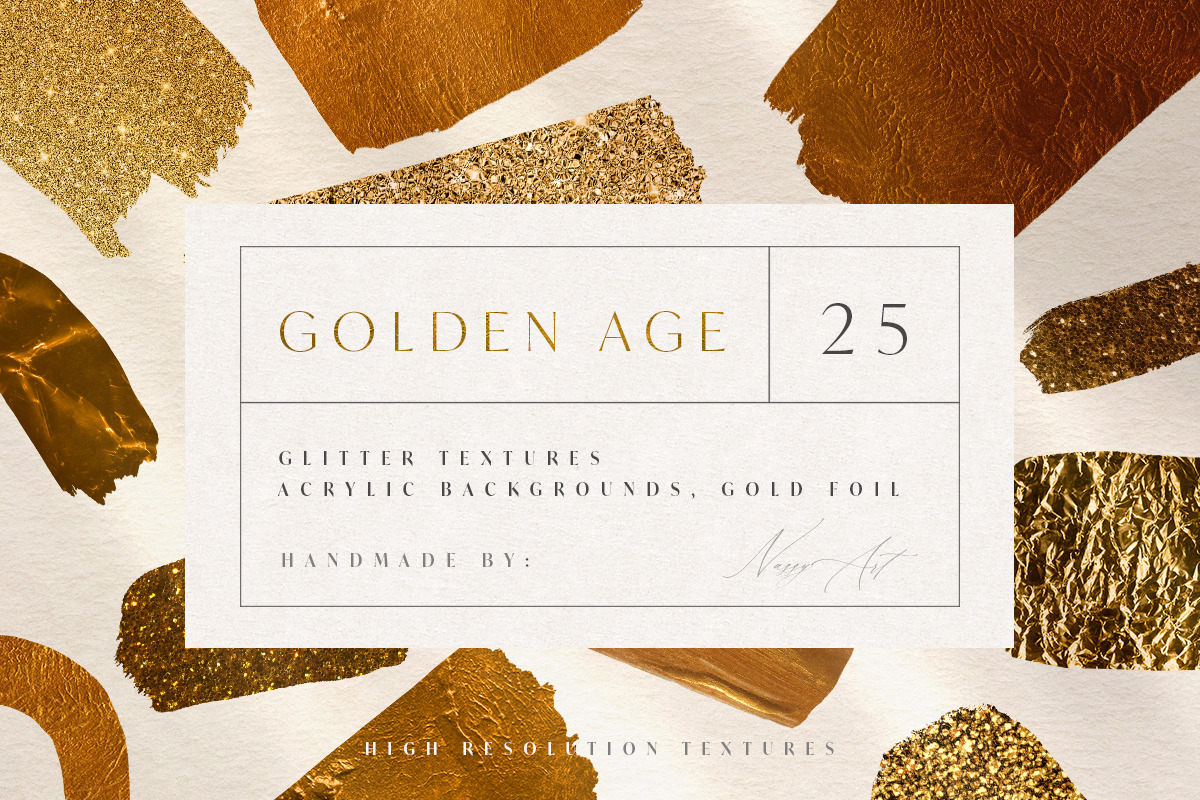 25 Golden Age Luxury Textures