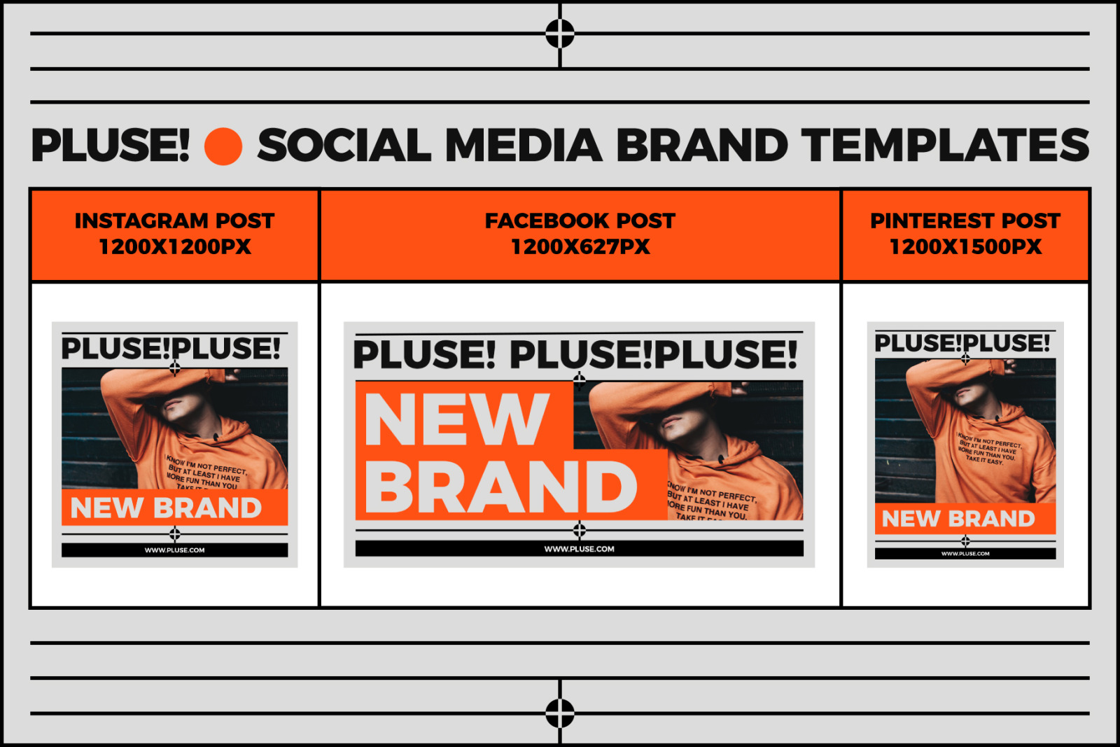 PLUSE!-SOCIAL MEDIA BRAND TEMPLATES