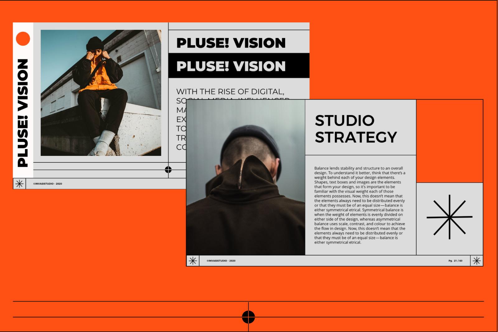 PLUSE! Media Kit PowerPoint Templates