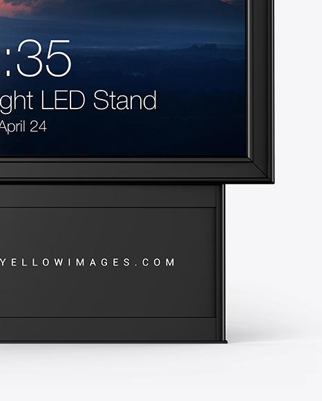 Citylight LED Stand Mockup