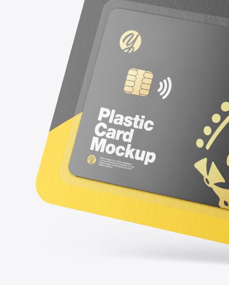 Gift Card in Blister Pack Mockup