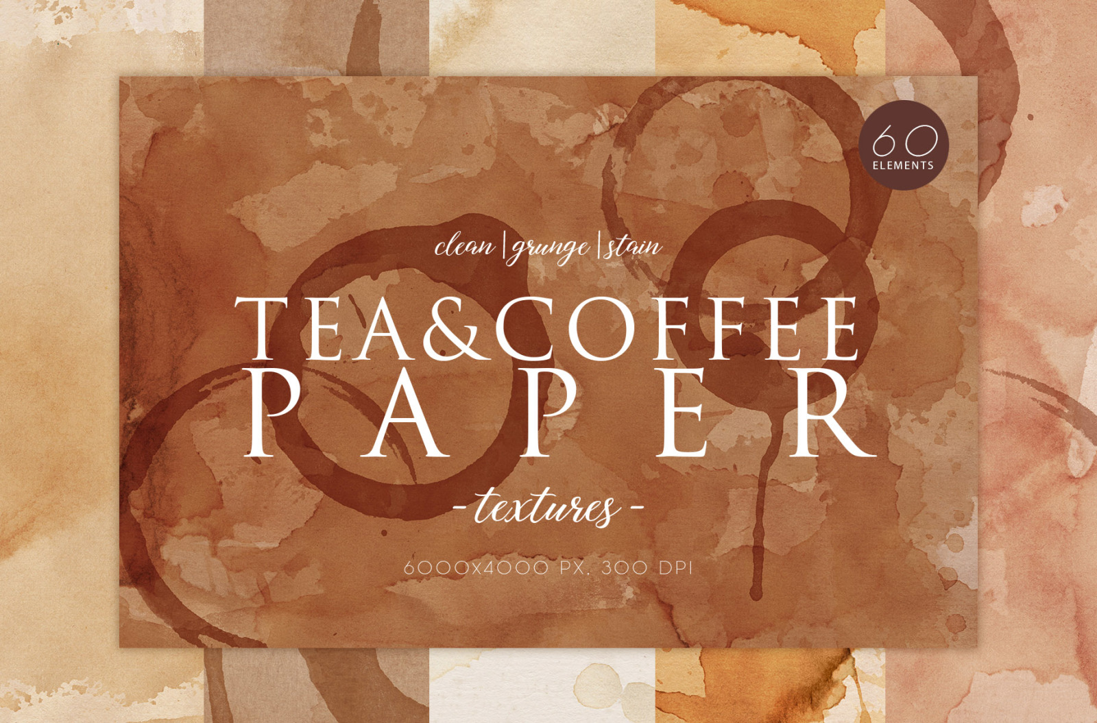 Tea&Coffee Stain Textures