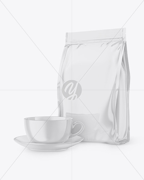 Download Drip Coffee Bag Mockup Free Yellow Images