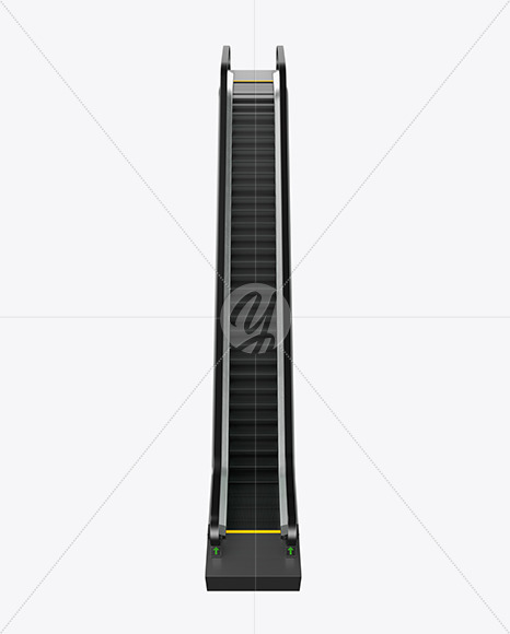 Escalator Mockup - Yellowimages Mockups