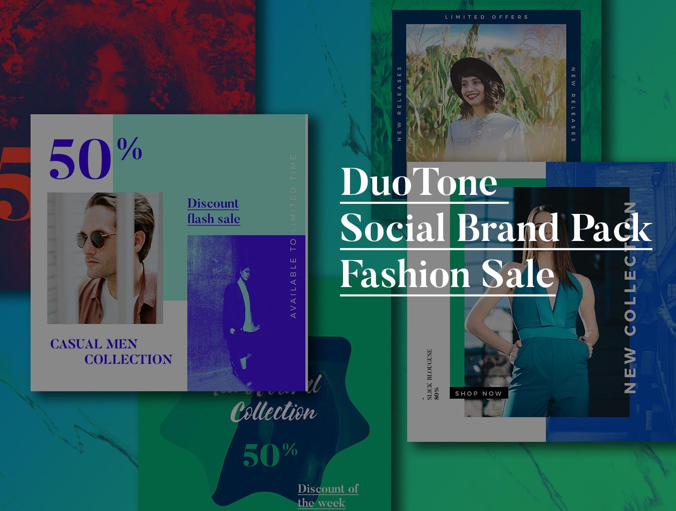 DuoTone Social Media Templates
