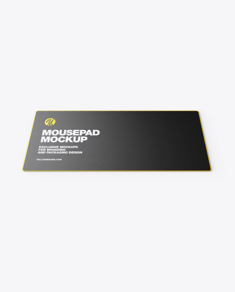 Mousepad with Mouse Mockup