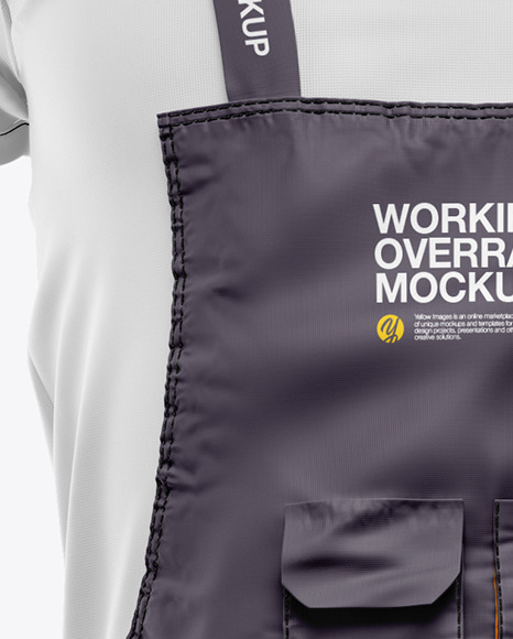 Working Overalls Mockup