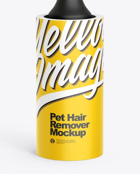 Pet Hair Remover Mockup