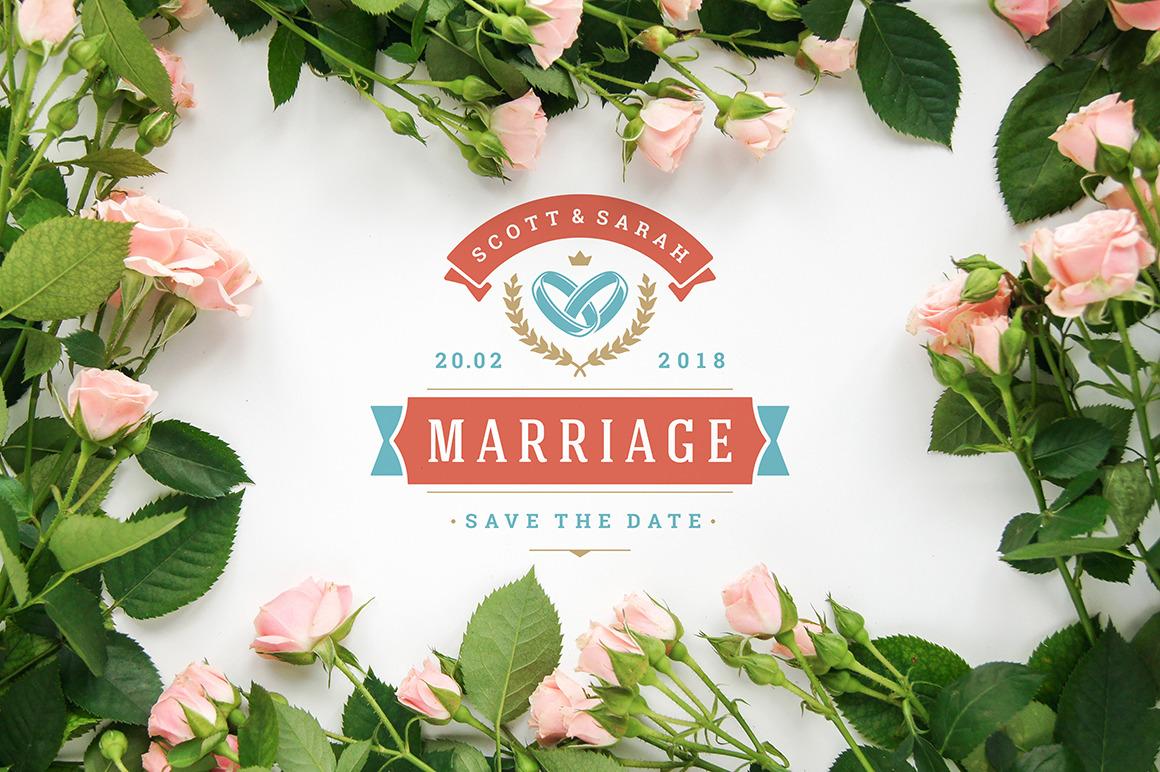 18 Wedding Logos and Badges
