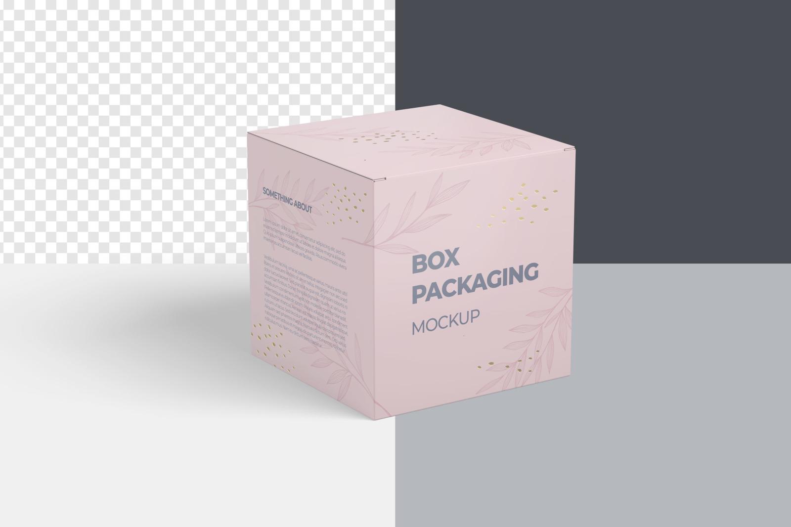 Box | Packaging Mockup