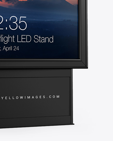 Citylight LED Stand Mockup