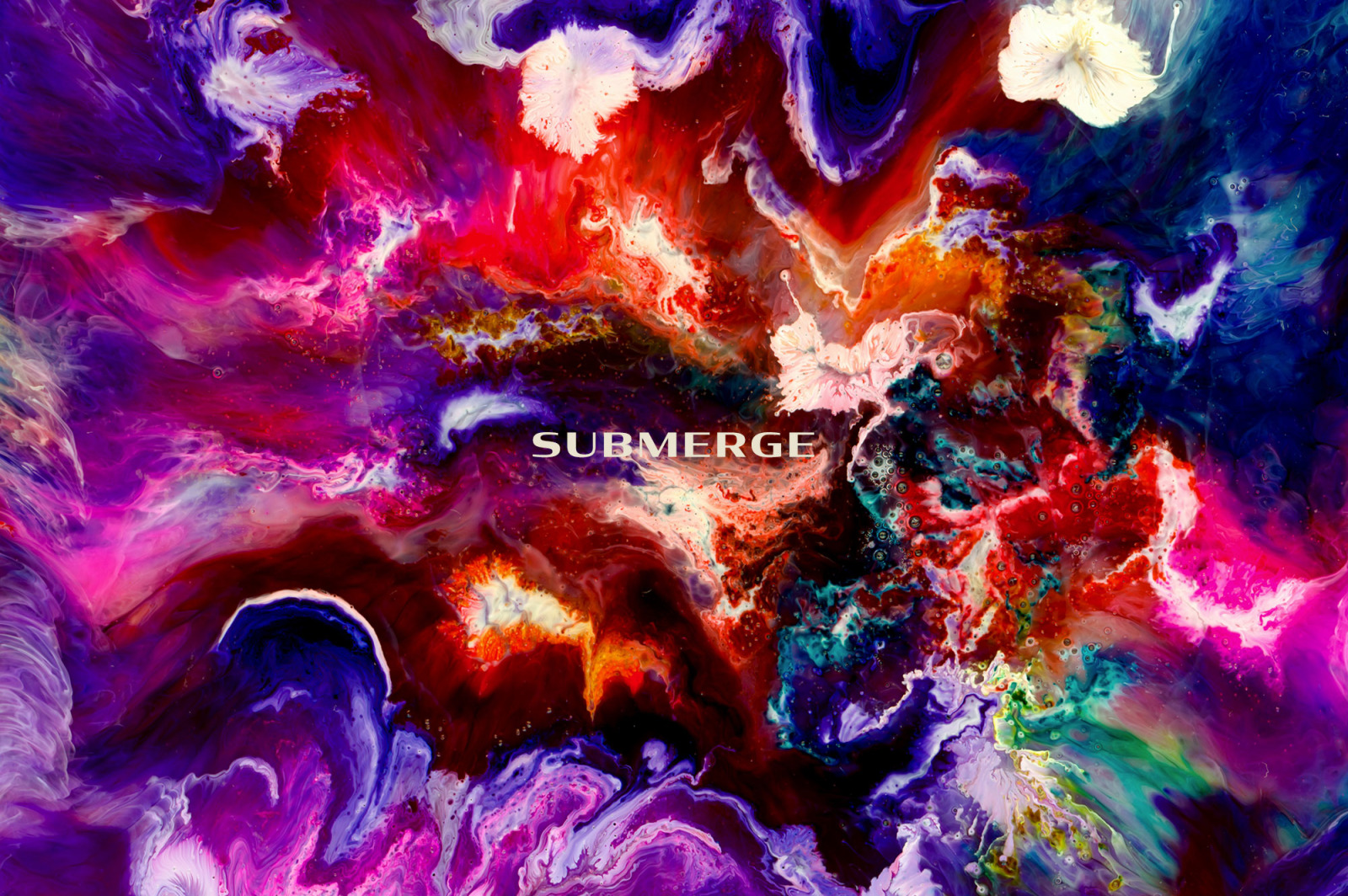 Submerge: Experimental Ink and Resin Textures